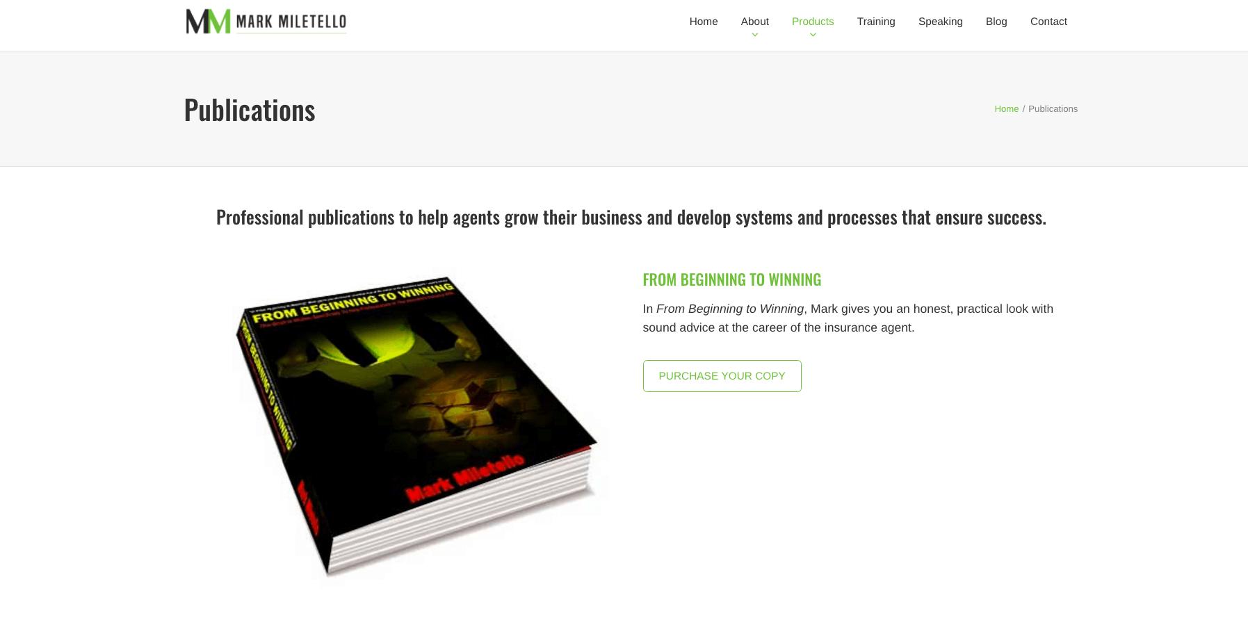 mark-miletello-publications